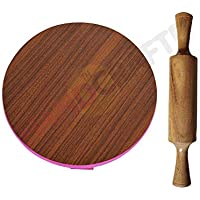 Mittal Wooden chapati Maker eco Friendly Wooden chakla belan by 1 PEC.