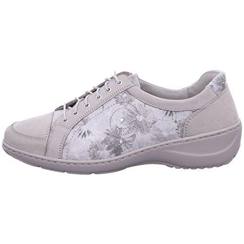 de 070°stein Waldläufer Zapatos Piel de para 400 mujer cordones Kya wpq7CI