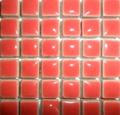 Mini Mosa/ïque en c/éramique /émaill/ée 10/mm saumon