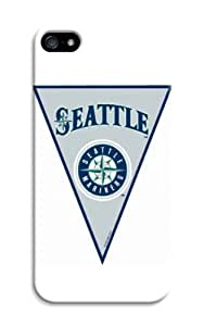 LarryToliver 100% Brand New Hard Case Cover Customizable Baseball Seattle Mariners iphone 5/5s Cases
