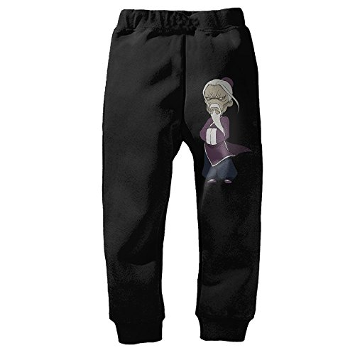 Childrens Ancient Chinese Teacher Confucius Bottom Sweatpants Black Cool