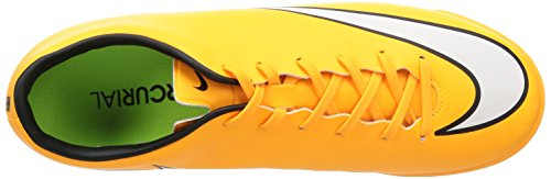 Nike Hommes Mercurial Victoire V Tf Turf Chaussure De Football Jaune / Noir / Blanc / Vert