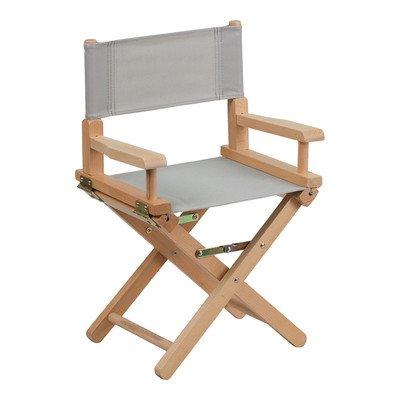 Kids Directors Chair Color: Gray