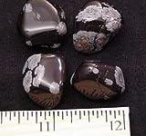 Tumbled Snowflake Obsidian (1/2'' - 3/4'') - 3pcs.