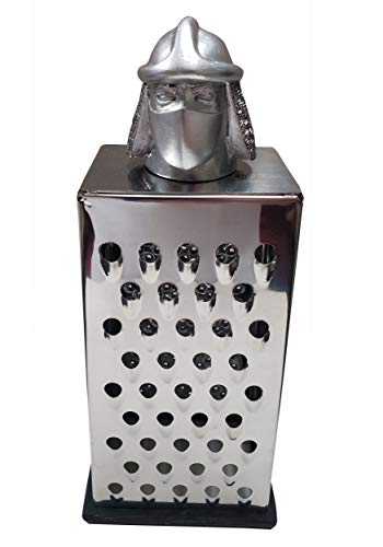 Teenage Mutant Ninja Turtles Shredder Cheese Grater | Official TMNT Handheld Stainless-Steel Kitchen Cheese Slicer