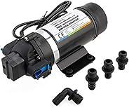 Yaegoo AC 110V Self Priming Water Pressure Diaphragm Pump for Caravan/RV/Boat/Marine