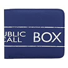 Boxed Doctor Who Tardis PU Wallet