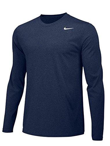 - Nike Mens Longsleeve Legend - Navy - Small