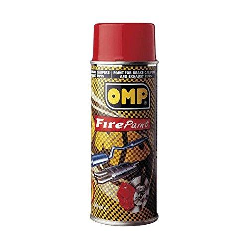 OMP OMPPC02001000061 Pintura Pinzas Rojo, Rouge, 400 ML