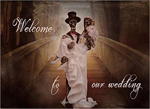 Welcome To Our Wedding Halloween Wedding Party Sign In Book