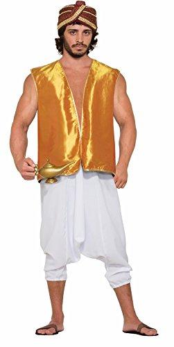 Forum Novelties Sultan Vest Adult Costume (Gold)-Standard -
