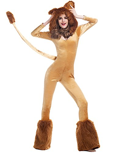 n Animal Cosplay Costume Stage Sexy Jumpsuit (X-large) ()