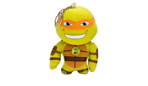 Turtles 010312 Michelangelo - Peluche de tortuga ninja (con ...