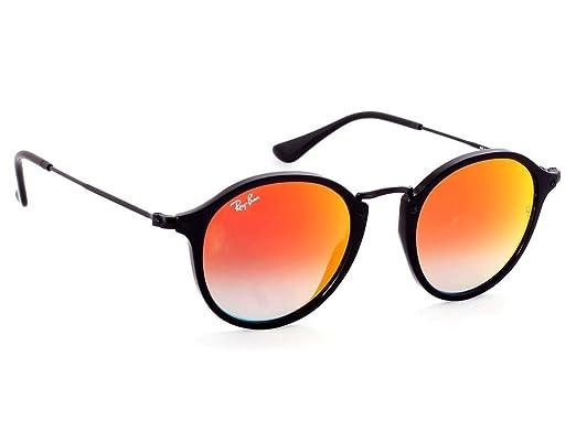 Amazon.com: Ray-Ban rb2447 Gafas de sol brillante negro w ...