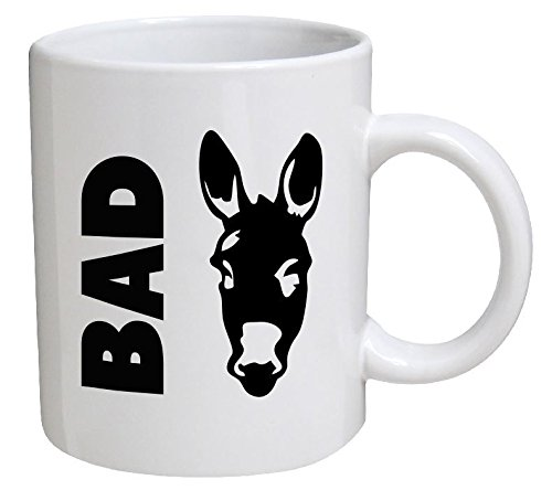 Funny Mug - Bad ass - 11 OZ Coffee Mugs - Funny Inspirational and sarcasm - By A Mug To Keep TM
