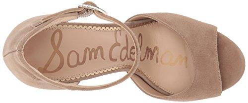 Sam Edelman Women's Wallace Heeled Sandal Oatmeal Suede ft1GOz