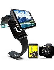 """Smartwatch 4G GPS Smart klocka, 2.88""""pekskärm Sportklocka med 2300mAh batteri och dubbla kameror, IP67 Vattentäta Fitness Trackers, 4 GB+64 GB Android Watch"""
