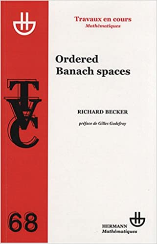 Ordered Banach spaces