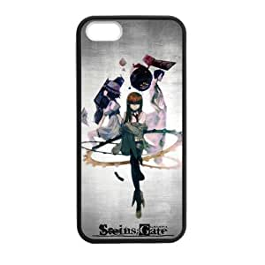 iPhone 4s Case, [steins gate] iPhone 4s Case Custom Durable Case Cover for iPhone4s TPU case (Laser Technology)