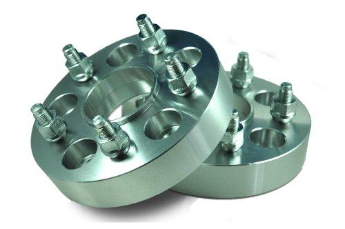 Hub Centric Wheel Adapter 5 Lug 100mm/112mm to 5 Lug 112mm 1 Inch - Pair