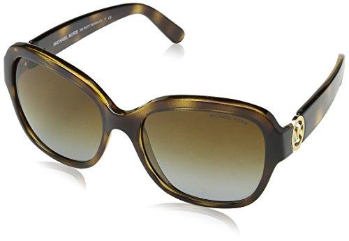 Michael Kors TABITHA III MK6027 Sunglasses 3006T5-55 - Dk Tortoise Frame, Brown Gradient Polarized