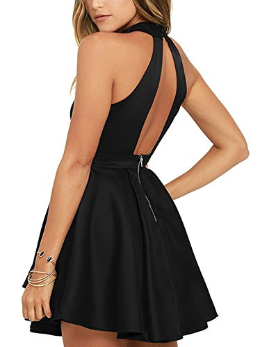 Cocktail Backless Dress