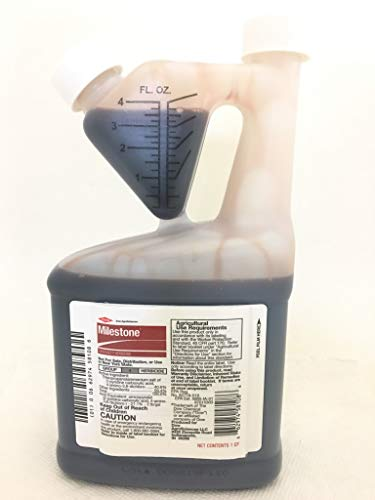 Herbicide Quart - Milestone Specialty Herbicide with Aminopyralid for Noxious and Invasive Weeds-Quart 6666085