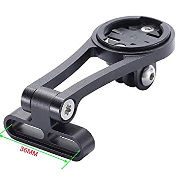 Dymoece Adjustable Out Front Bike Computer Combo Extended Mount for Garmin Edge 25 130 200 500 510 520 800 810 820 1000 1030: Electronics