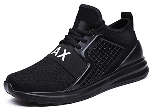 TSIODFO Men s Sneakers Breathable Comfortable Youth Big Boys Sport Trail Running Shoes