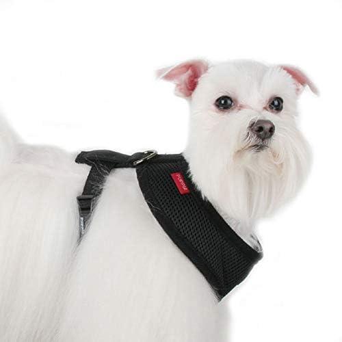 Puppia Soft Harnais B avec Gilet pour Chien Gris Taille XS