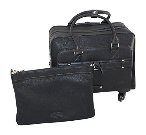 Simply Noelle Buckle Roller Bag, Black by Simply Noelle