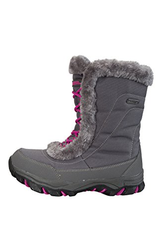Durable Upper Comfort IsoDry with Boots Textile Grey Mountain Outsole Snow Extra Breathable Membrane Ohio Warehouse Rubber for Youth amp; nqPYTYw4z8