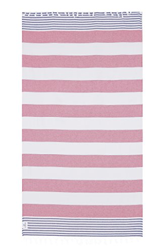 Lushrobe Terry Beach Cotton Towel - Lightweight and