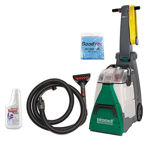 en Deep Cleaning Machine Bundle Kit with Upholstery Tool Kit GoodVac Cleaning Cloth GoodVac Super Shampoo Carpet Shampoo ()
