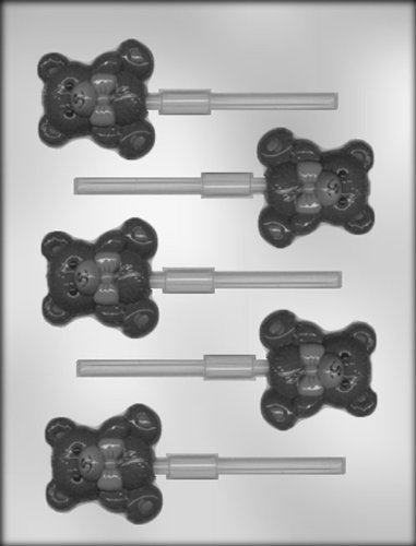 CK Products Best Bear Sucker Chocolate Mold (Molds Teddy Chocolate Bear)
