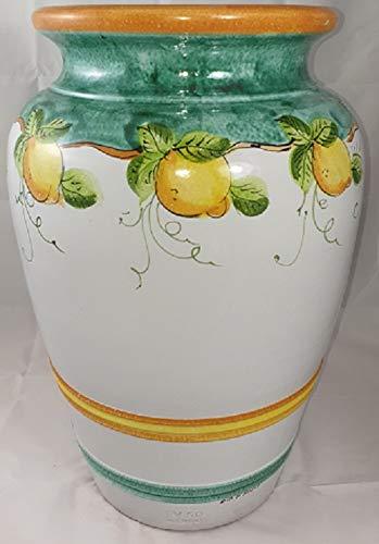 Vasi In Ceramica Di Vietri.Portaombrelli In Ceramica Di Vietri Dipinto A Mano Altezza Cm 50
