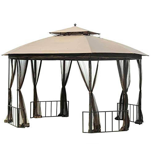Sunjoy Replacement Canopy Set for Catalina Easy Set Up Gazebo -  110109115