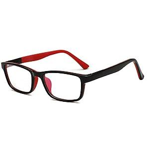 Fantia Children with Myopia Frames Kids Eyeglass Hinge Design Eyewear (E)