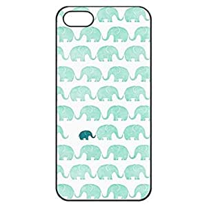 Elephant Design Hard Plastic Case for iPhone 5 5s case