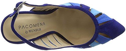 Sandali Chiusura Retro Benin Blau Azul MENBUR sul Donna 66 con Blu 5atTTq
