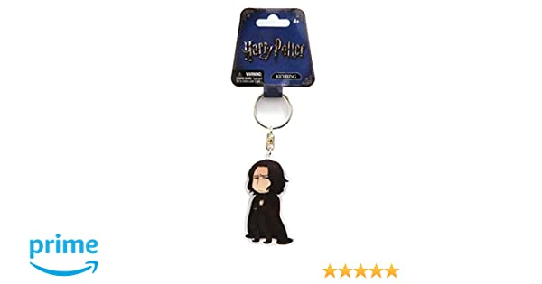 Amazon.com: Harry Potter Kawaii Style Severus Snape Acrylic Key Ring Accessory: Toys & Games