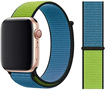 For apple watch band Blue green color For 42, 44 size
