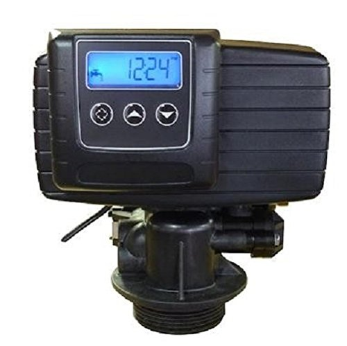 - Fleck 5600SXT Water Softener Valve Digital Metered On Demand Replacement Head