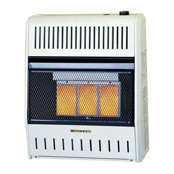 Procom Vent Free Dual Fuel Infrared Radiant Wall Heater