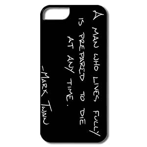 Alice7 Quote Case For Iphone 5,Emotion Iphone 5 Case