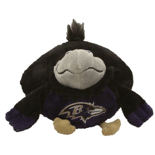 Nfl Mascot - Fabrique Innovations NFL Orbiez Plush Toy , Baltimore Ravens