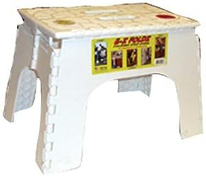 Amazon Com B Amp R Plastics 104 6wh White 12 Quot Ez Foldz Step