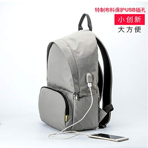 oulder Computer Bag Portable Fashion 13.3/14 / 15.6 inch Notebook Backpack Men and Women Business Bag Pro Leisure Air Lenovo Huawei Millet Microsoft Surface Game Book ()