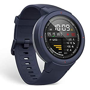 Amazfit Verge Smartwatch with Alexa Built-in, GPS Plus GLONASS All-Day Heart Rate and Activity Tracking, 5-Day Battery…