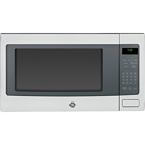 GE PEB7226SFSS Profile 2.2 Cu. Ft. Stainless Steel Countertop Microwave Ge Profile Stainless Steel Appliances